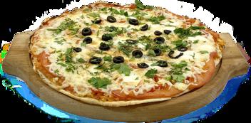 "Пицца ""Маргарита"" на тонком тесте"